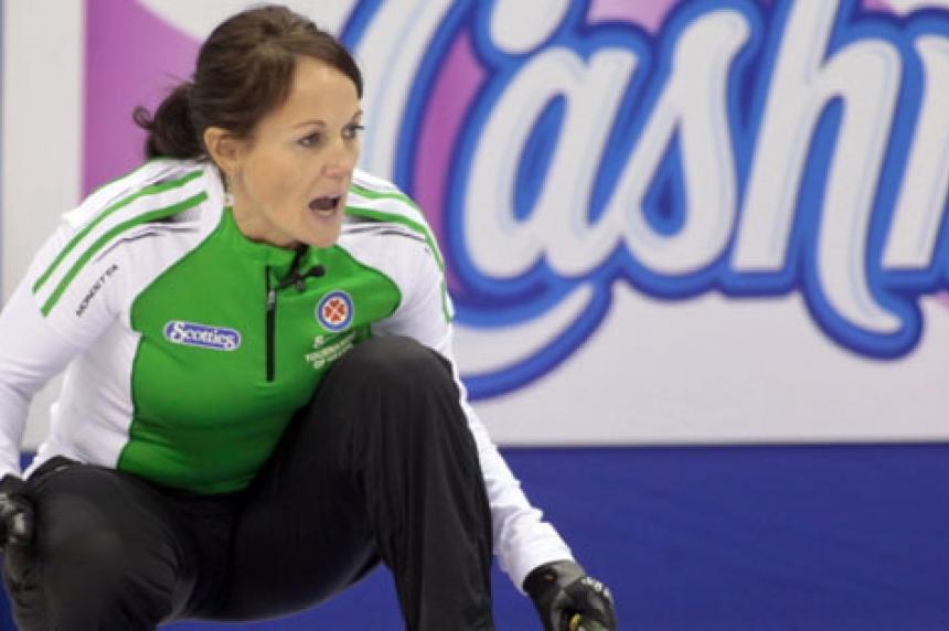 Saskatchewan's Michelle Englot skips winning team at Manitoba Scotties