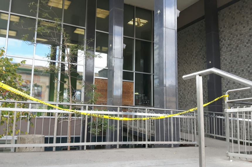 Fire in drop box damages Regina Public Library central branch