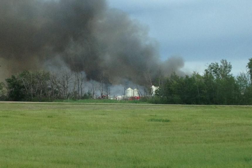 5,000 pigs killed in barn fire outside Leroy Saskatchewan