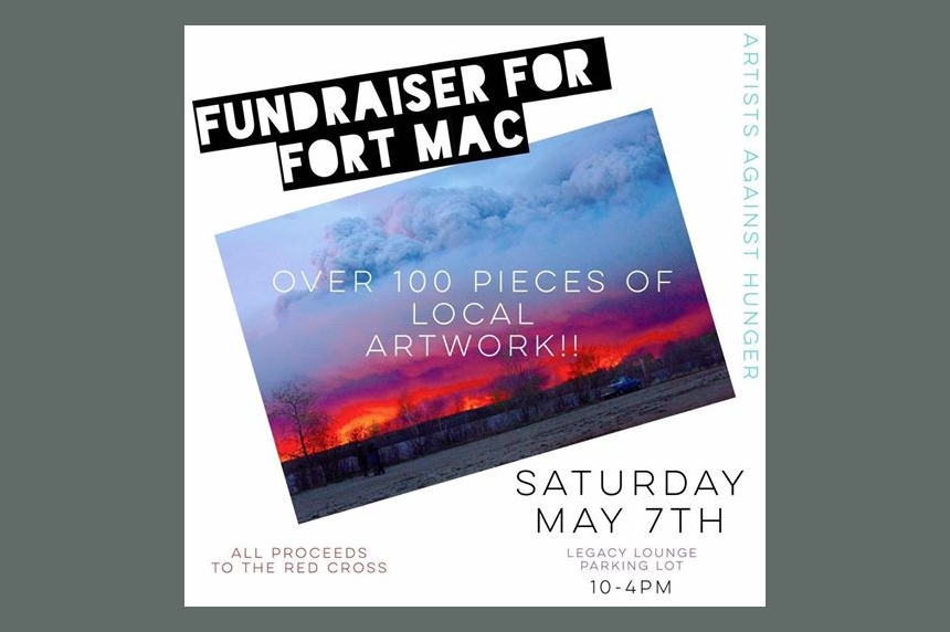 Local artists join forces to raise funds for Fort McMurray