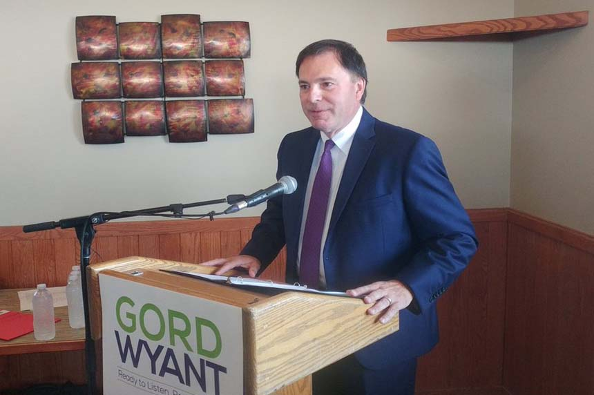 He's in: Gord Wyant running for Sask. Party leader