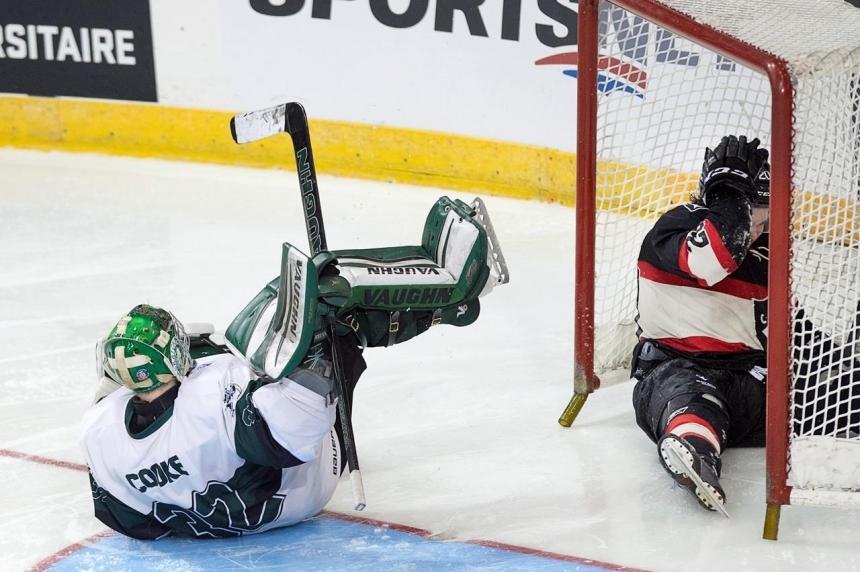 U of S Huskies beat Carleton in longest hockey game ever at CIS University Cup