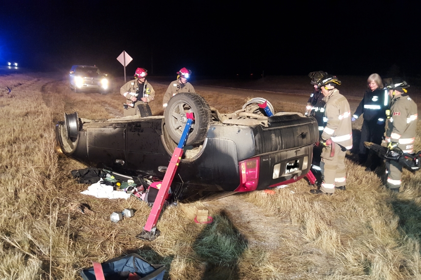Rollover near Beaver Creek sends woman to hospital