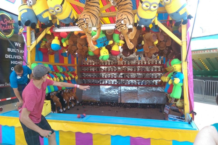 Carnival games and the life of a veteran carnival worker