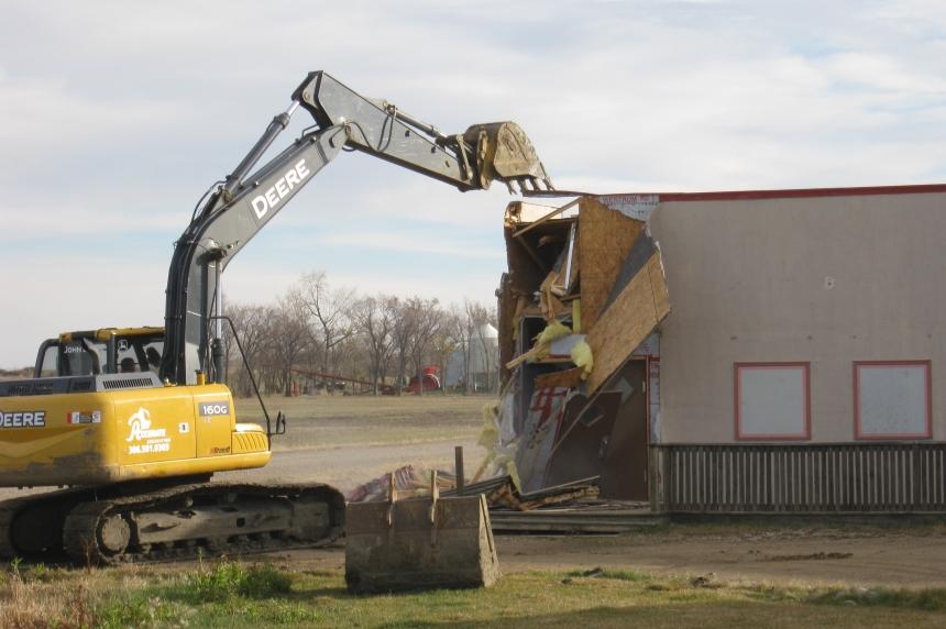 Corner Gas set in rural Sask. deemed unsafe, torn down