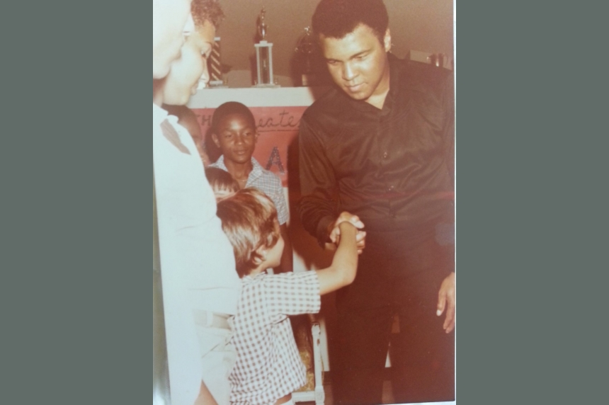 Saskatoon man remembers special meeting with Muhammad Ali