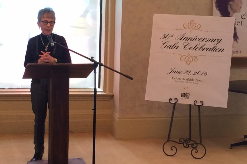 Royalty to help celebrate 50 years of Regina's Globe Theatre