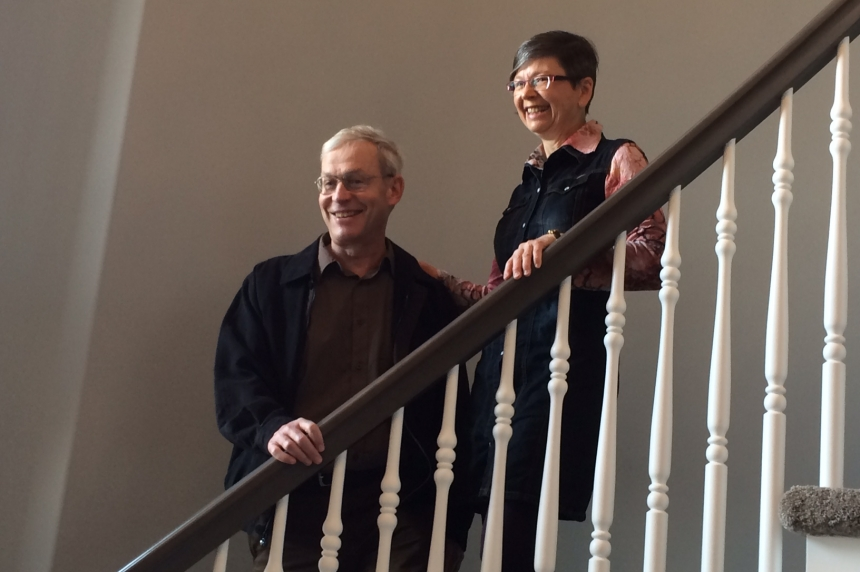 Regina couple get keys to $1.5M home in Hospitals of Regina Foundation spring home lottery