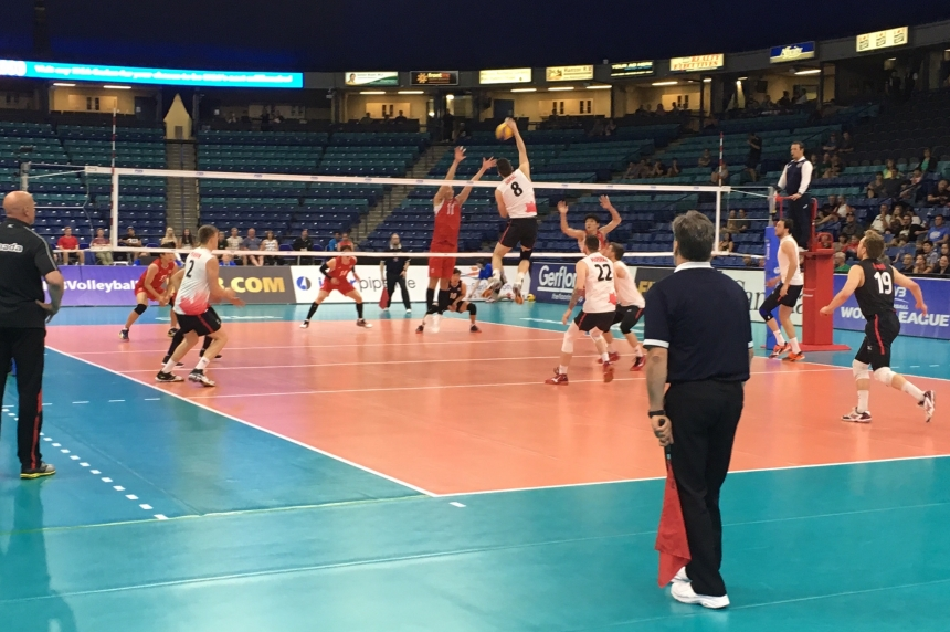 Canada sweeps Korea in opener at FIVB World Volleyball Championships