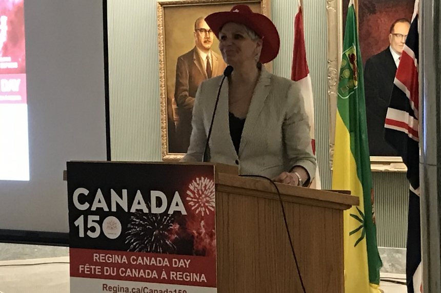 Regina unveils Canada 150 celebrations