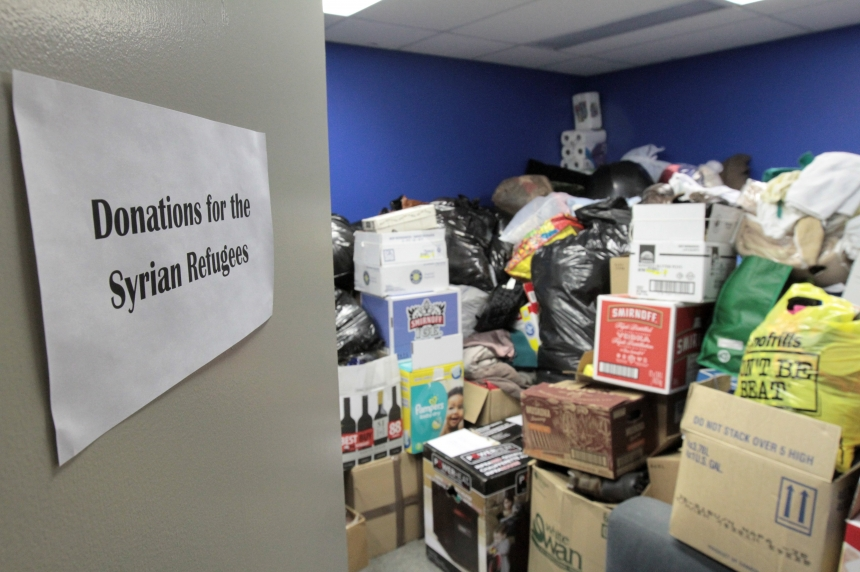 Saskatoon group to host refugee donation pick up day