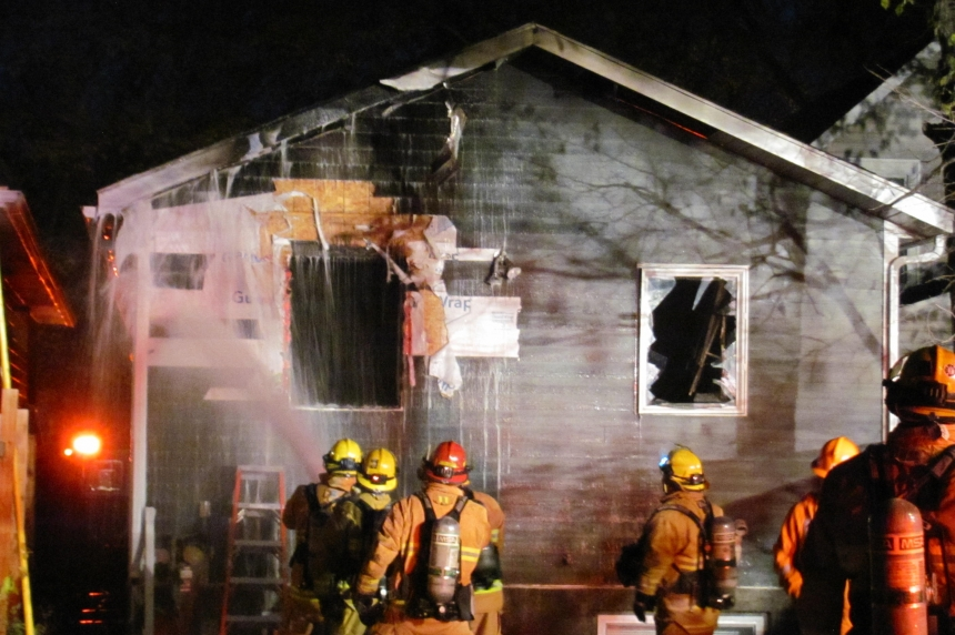 UPDATE: Fire crews handle blaze at home in Regina's North Central