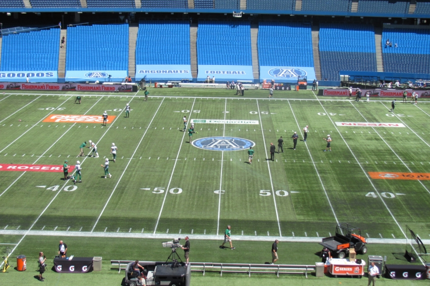 GAME DAY: Riders hope to stop skid in Toronto