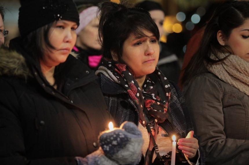 Saskatoon teachers host vigil for La Loche victims