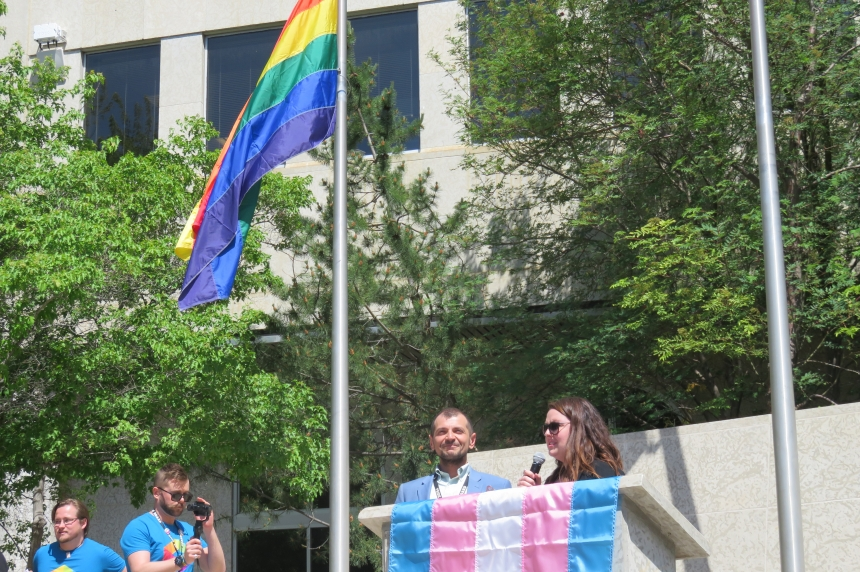 25th Pride festival launched by largest-ever flag raising