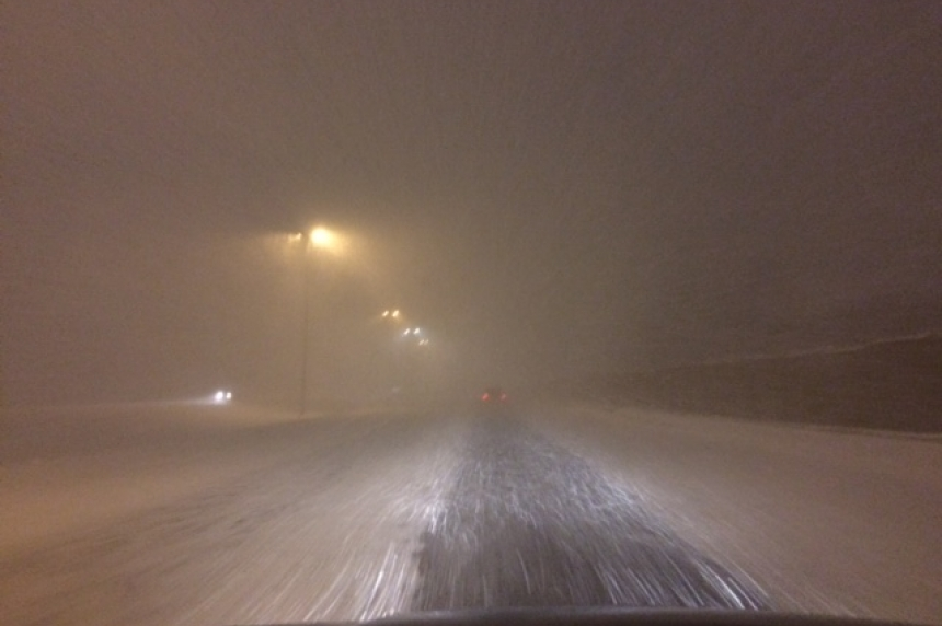 Winter storm on the way for northern Sask.