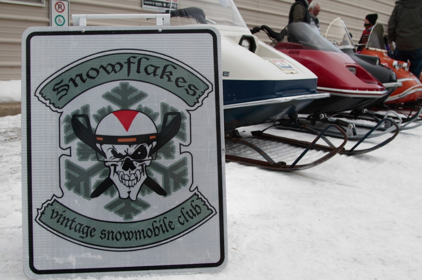 'Corvettes' of snowmobiles rally in Clavet