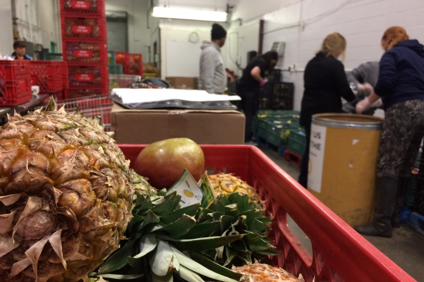 Martel on the Move: Serving up hope at the food bank