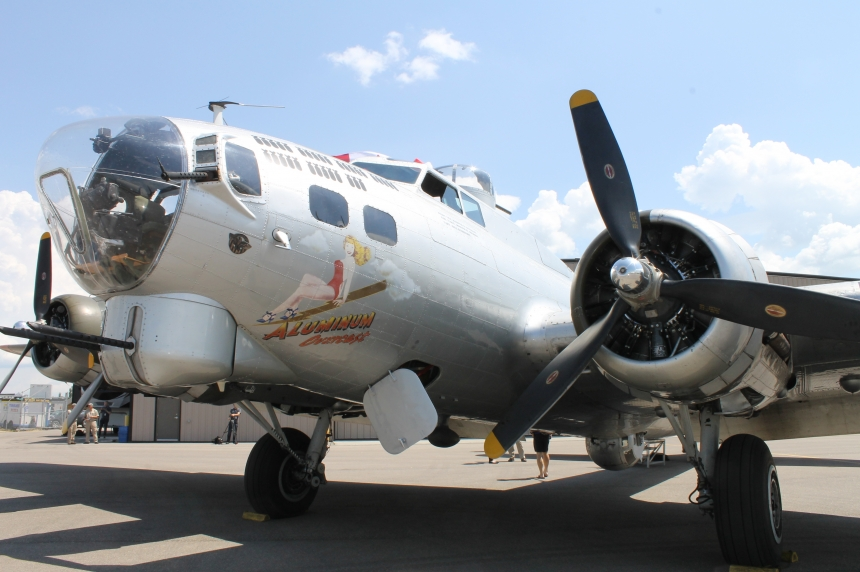Tours of WWII bomber over Regina give glimpse into past