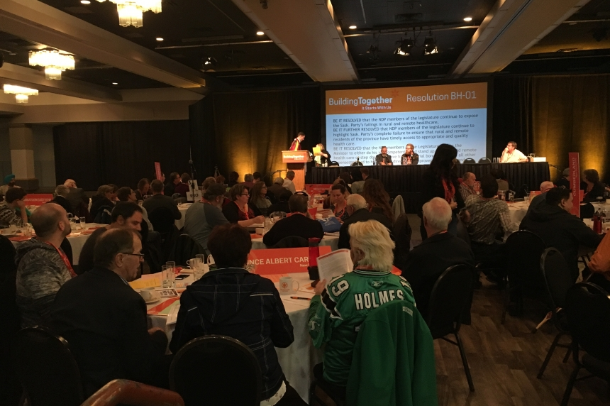 Sask. NDP meet for first time since election defeat at annual convention