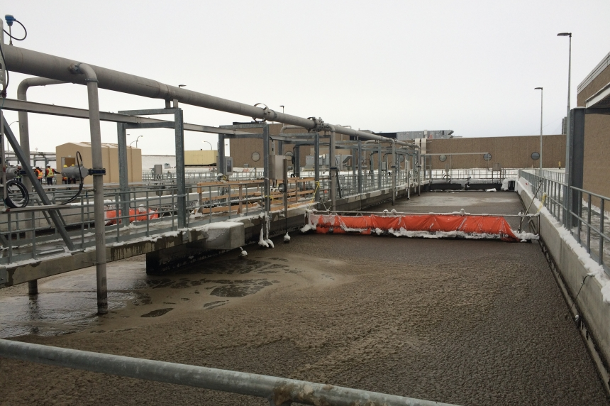 Photos: Regina's new waste water treatment plant almost complete