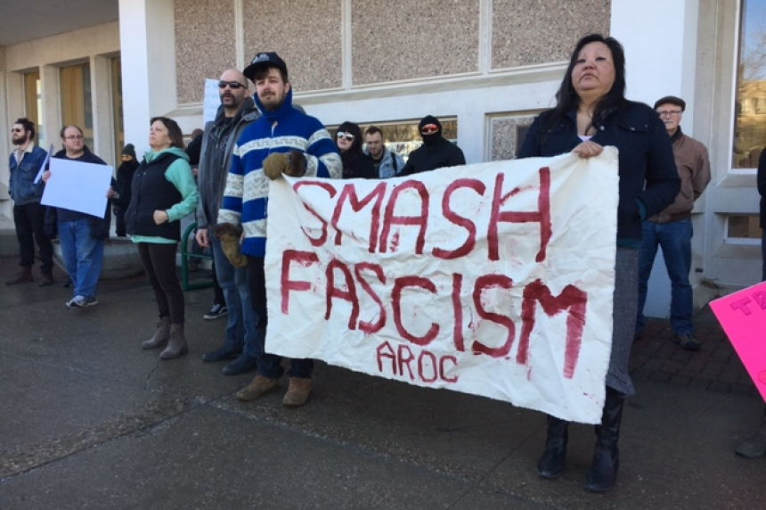 Protestors clash over Islamophobia motion in Saskatoon