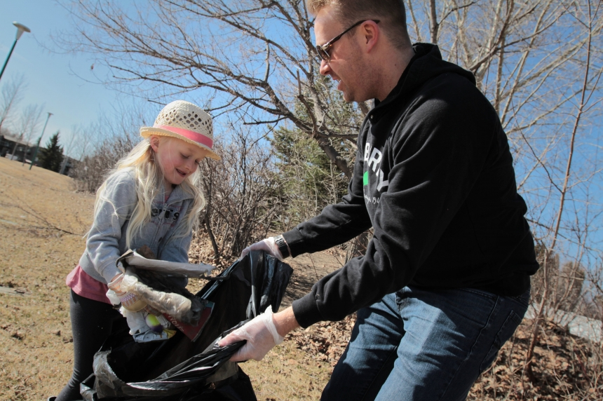 Massey Place church cleans up community park