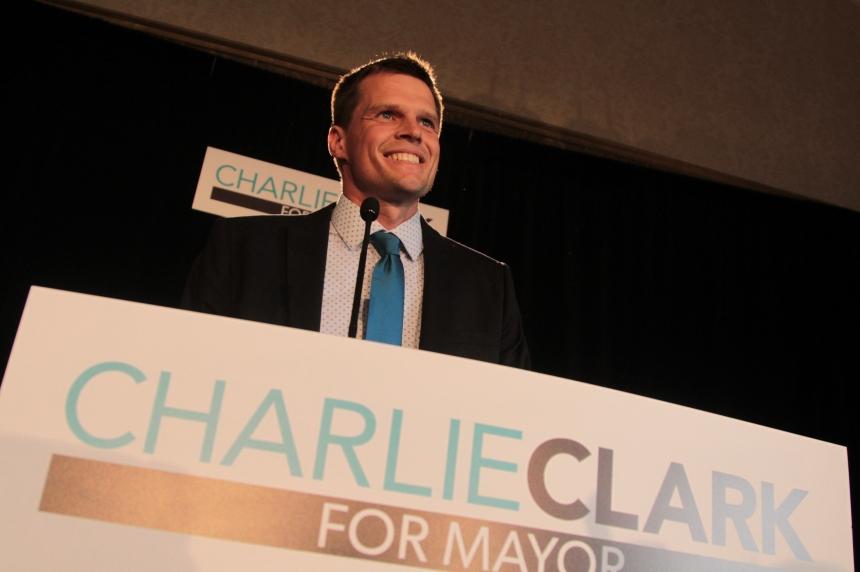 Coun. Charlie Clark announces mayoral bid