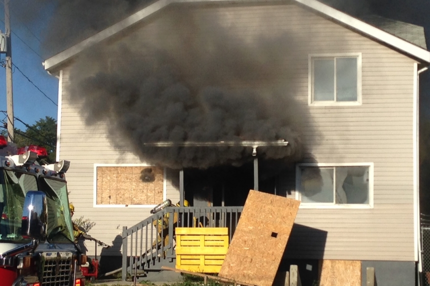 Regina apartment building catches fire for second time since February