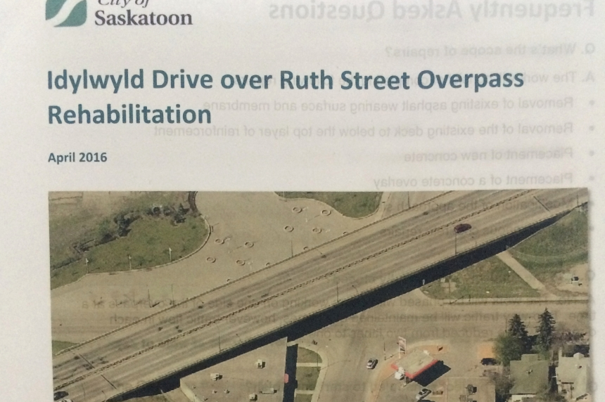 Idlwyld Drive over Ruth Street overpass rehabilitation
