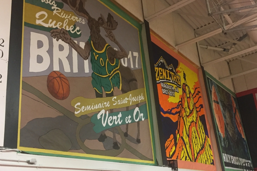 BRIT tradition continues with team mural project