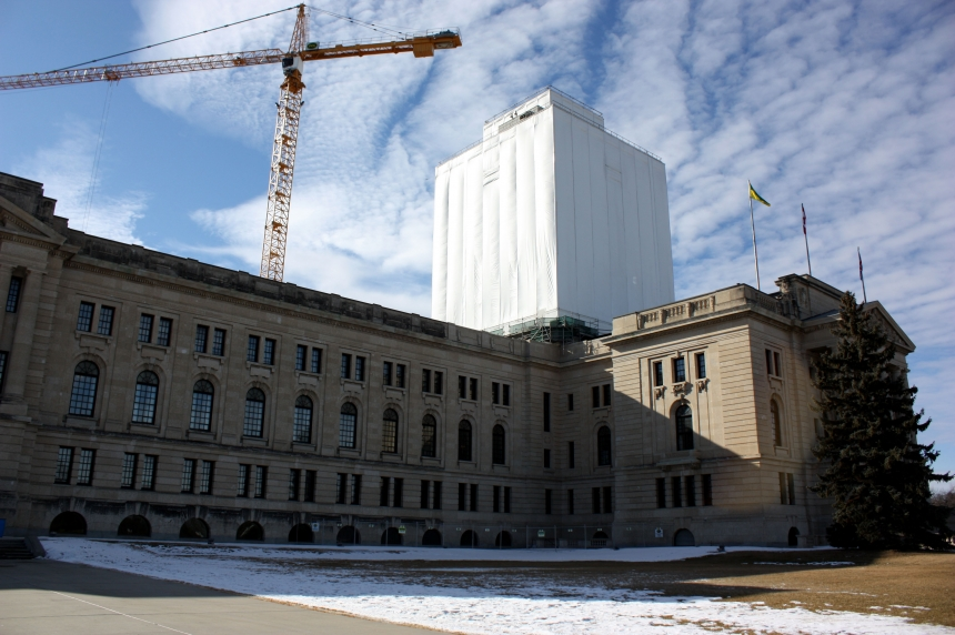 Like a new penny: Saskatchewan legislative building's dome restoration nears completion