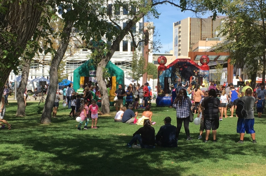 'We have so many things to offer:' People gather at Victoria Park to celebrate Regina