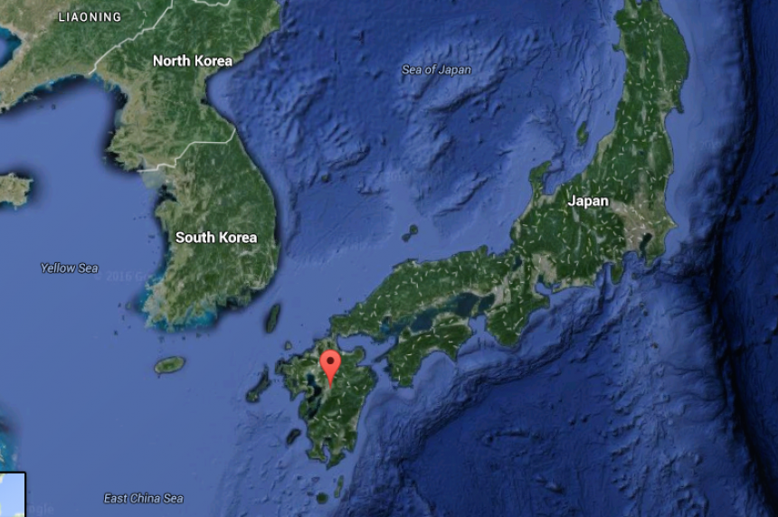 Powerful earthquake hits south Japan, collapsing houses
