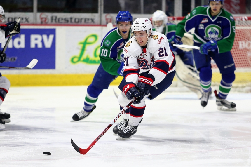 Pats forward Nick Henry named WHL Player of the Week