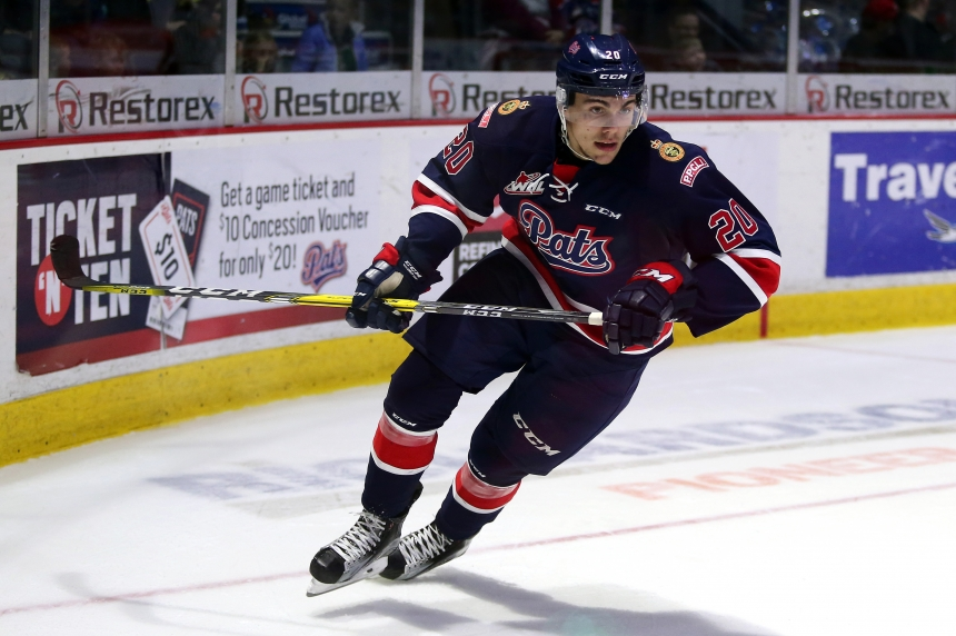 Pats lose 1st of 2 games against Moose Jaw 5-4