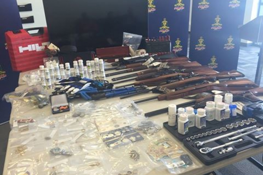 Stolen drugs and property from Sask. found in Alta. bust