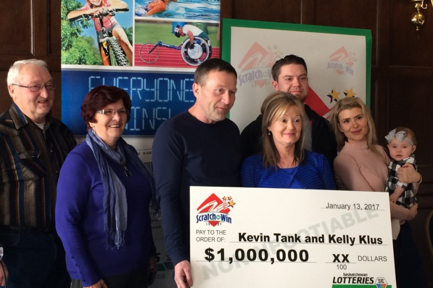 Melville couple win $1M on scratch ticket