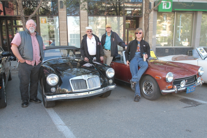 Sask. British car club among hundreds at Show and Shine weekend
