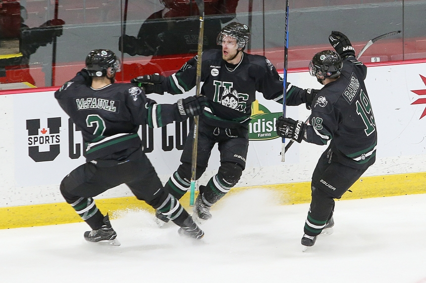 Cable's winner moves Huskies back to University Cup semifinal