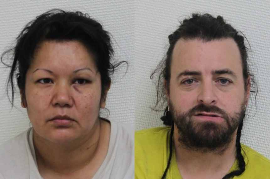 RMCP arrest  wanted Maidstone man, woman