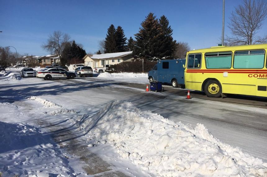 Police make arrest in lengthy morning standoff in Saskatoon