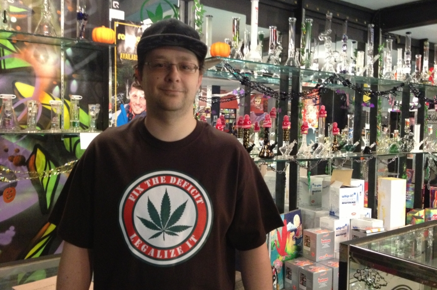 'High time' for Liberals to legalize marijuana: Regina shop