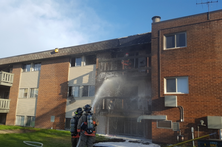 Apartments damaged in long weekend fire