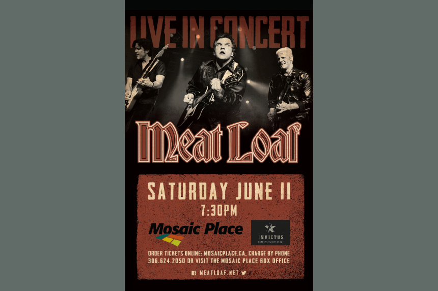 Meat Loaf concert rescheduled for July