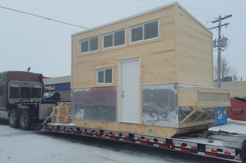 Idle No More inspired mini-home takes on First Nations housing issues