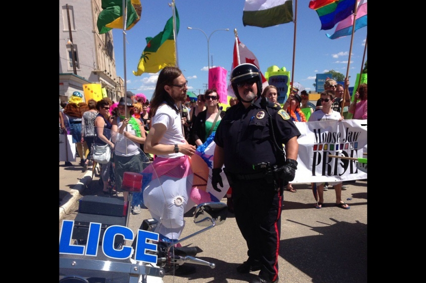 Hundreds show up for Pride Parade in Moose Jaw
