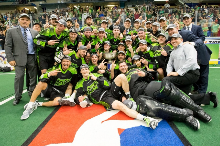 Saskatchewan Rush win back-to-back NLL Championships
