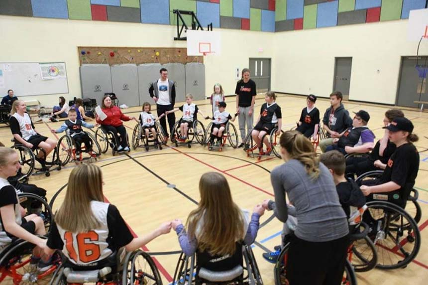 Wheelchair basketball team season saved in wake of theft