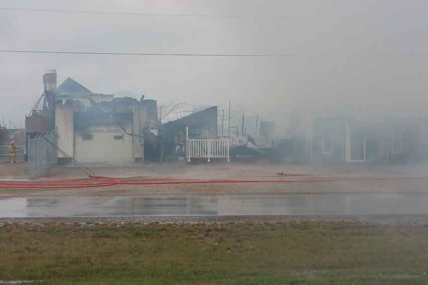Fire destroys Osler business, damage pegged at $1M